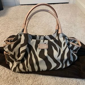 Kate Spade Zebra Print Stevie Bag